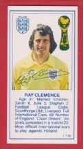 England Ray Clemence Liverpool